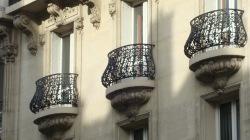 Wrought iron railings, Paris, France