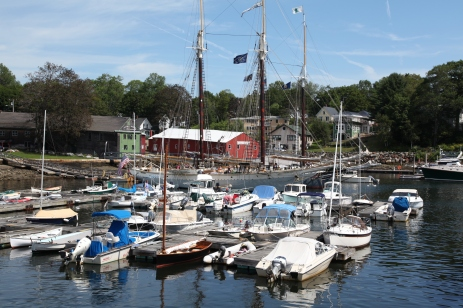 Harbor, Camden, Maine