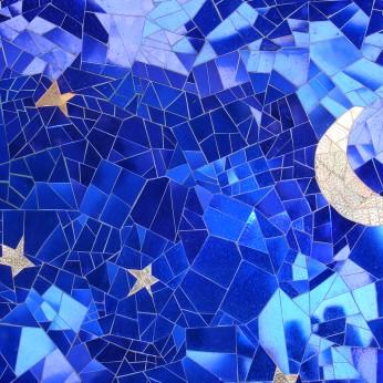 Mosaics at Queen Califia's Magical Circle sculpture garden, Escondido, California