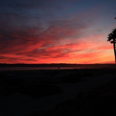 Sunset, Coronado, California