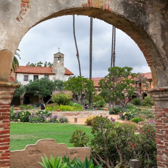 Mission San Juan Capistrano, California