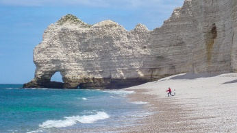 Cliffs at Etretat, France