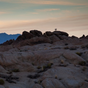 Sunset, Alabama Hills, California