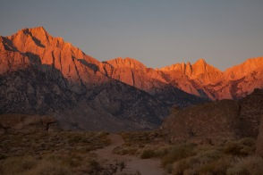 Sunrise, Mount Whitney, Alabama Hills, California