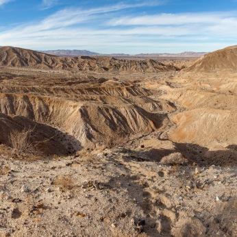 Carrizo Badlands, Anza-Borrego Desert