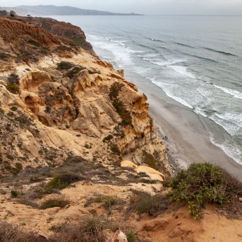 Looking South from the Guy Fleming Trail at Torrey Pines SNR