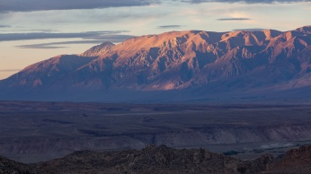 Sunset on the White Mountains