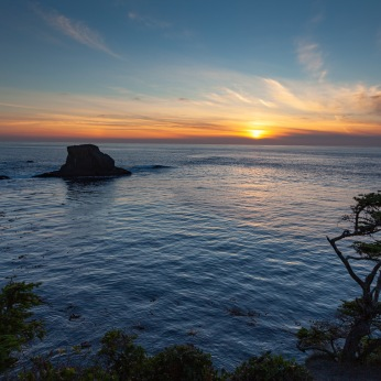 Sunset at Cape Flattery
