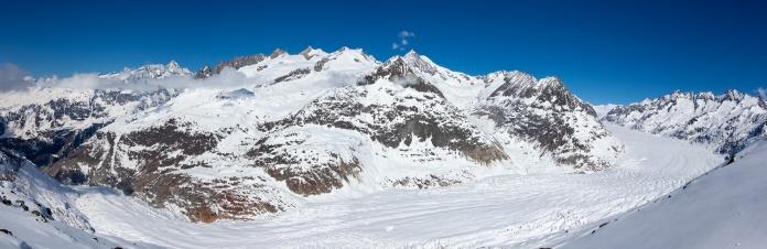 The Aletsch Glacier