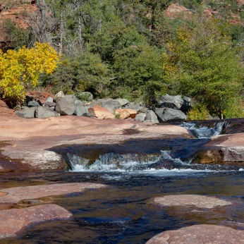 Oak Creek at Slide Rock State Park