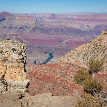 Colorado River in the Grrand Canyon